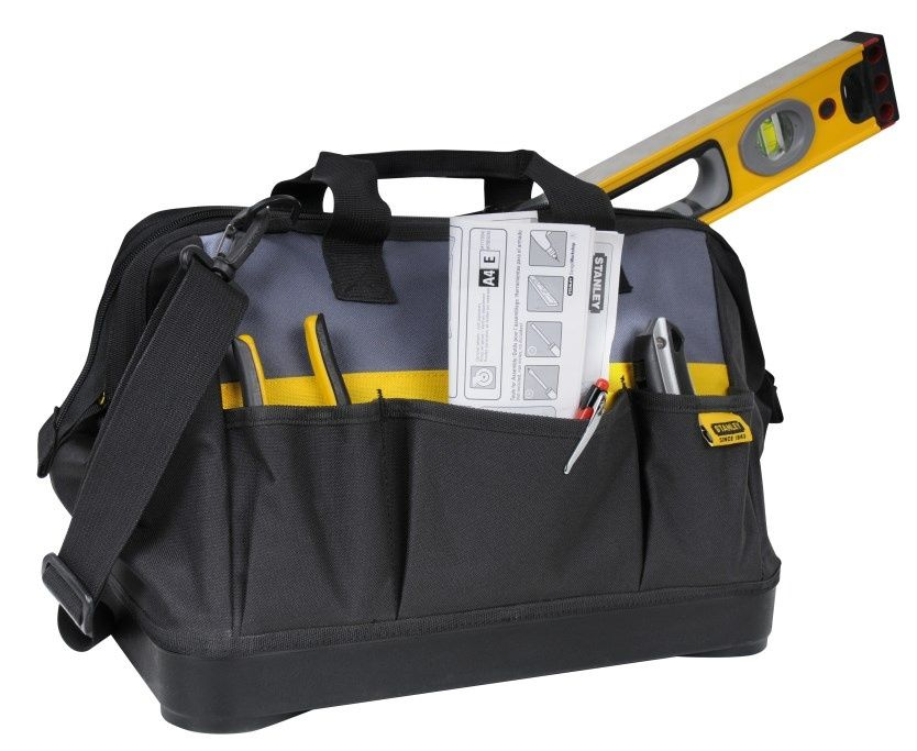 Stanley Open Mouth Tool Bag - 16inch